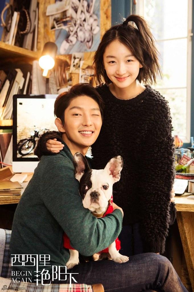Lee Jun Ki And Zhou Dong Yu S Begin Again Drops Cuddly