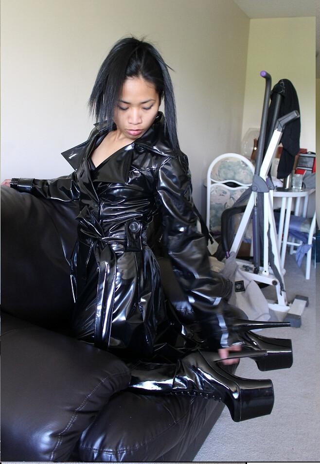 Asian Women In Leather 97