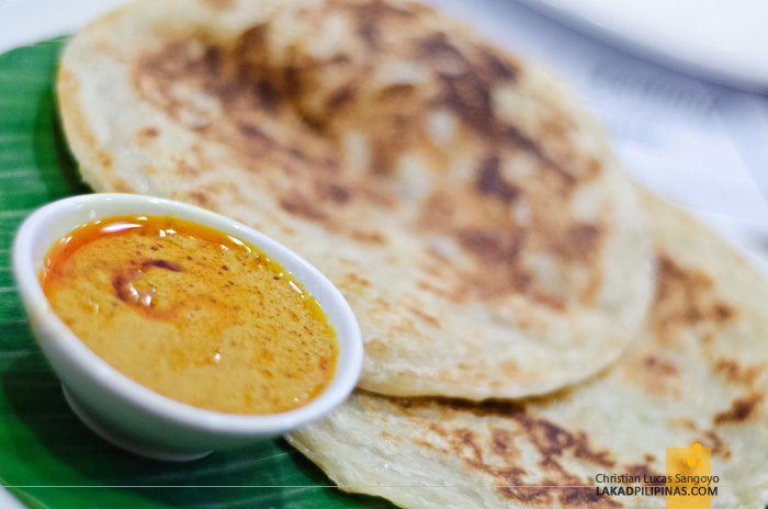 Roti Canai at Martabak Cafe in MOA