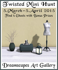 Twisted Mini Hunt Spring 2015 - Dreamscapes Art Gallery