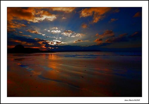 sunset sea sky sun mer seascape beach nature canon soleil brittany sigma bretagne ciel nuages paysage plage paysages jmfaure crozgat29
