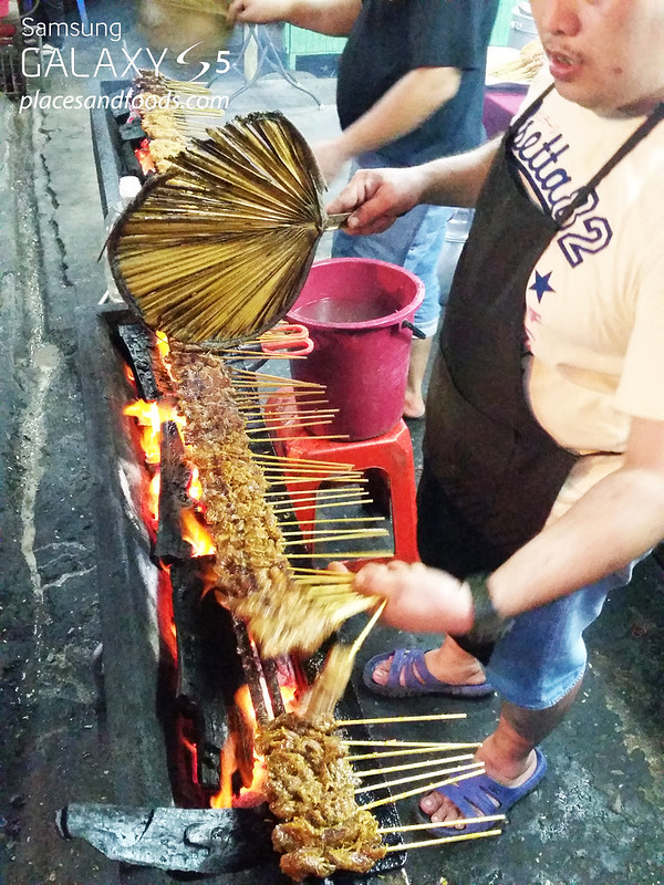 dzul peel road satay burning