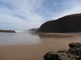 1454 Metre uzunluğunda plaj görüntü.