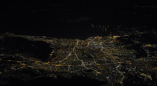 Athens by night & from above