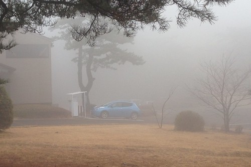 寒霞渓山頂駐車場 電気自動車用急速充電器
