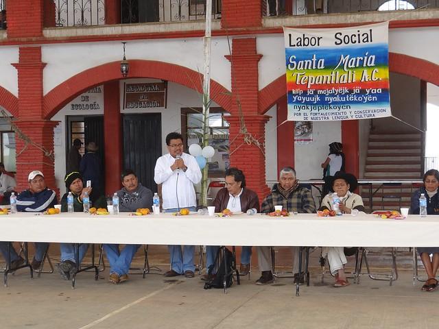 Gobierno de Oaxaca, Reitera SAI compromiso para el desarrollo de la Sierra Mixe, Oaxaca