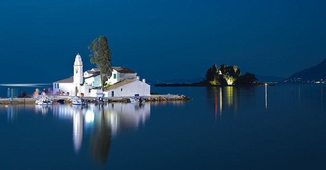 Panagia Vlacherna, Kanoni, Corfu, Greece