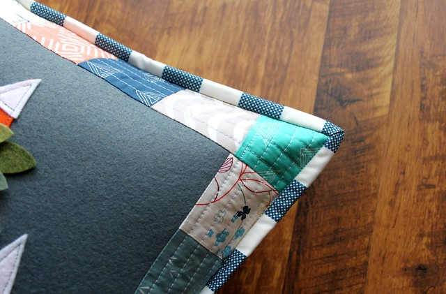 Folk Plaid Binding