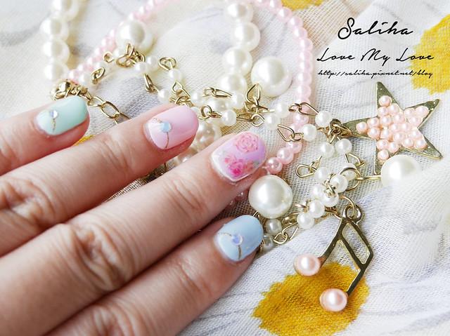 馬卡龍光療指甲 (12)