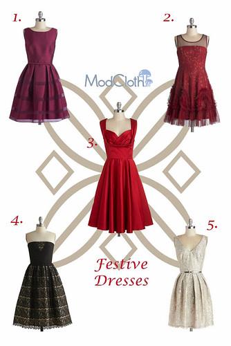 festive dresses