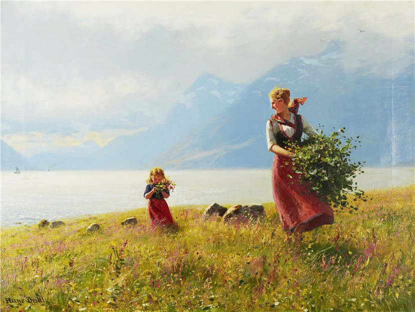 Summer Day by Hans Dahl