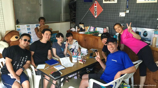 本日の集合写真♪ 2016/08/06