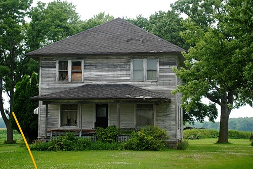 Abandoned Farmhouse, Evansville Wisconsin