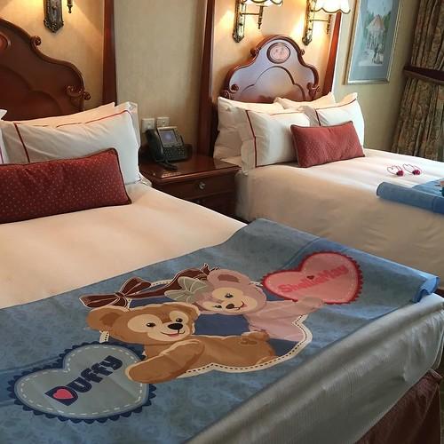 香港ディズニーランドホテルのダッフィー&シェリーメイルーム。