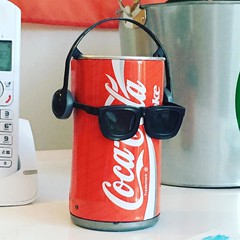 Remember dancing coke cans? #vintage #CocaCola #sudouest #france #holibobs #igersfrance #igerslondon #classic #dancingcans