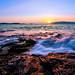 "Seaside Sunset by ""louisheublein"""