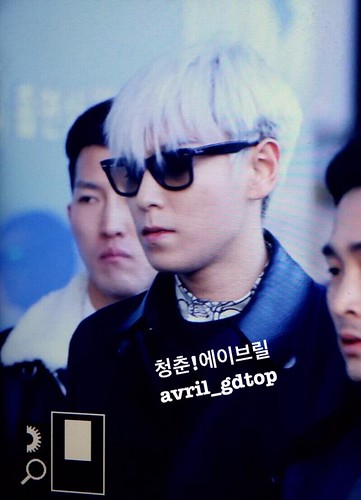 Big Bang - Gimpo Airport - 15jan2015 - TOP - Avril - 02