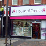 New House of Cards shop in Preston