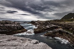 Stormy skies and rough seas along the Pacific coast of Taiwan near Shihtiping. #travel #taiwan #seascape