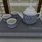 Green Tea Classic Blue 3D Models
