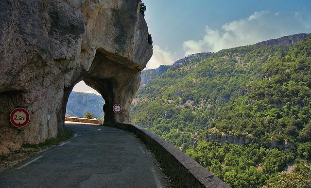 FRANCE - Provence , Gorges de la Nesque,12179/4293