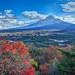 Fuji at day 紅葉台から by Sharleen Chao