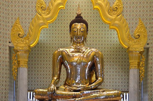 Wat Traimit, uno de los templos más importantes que ver en Bangkok