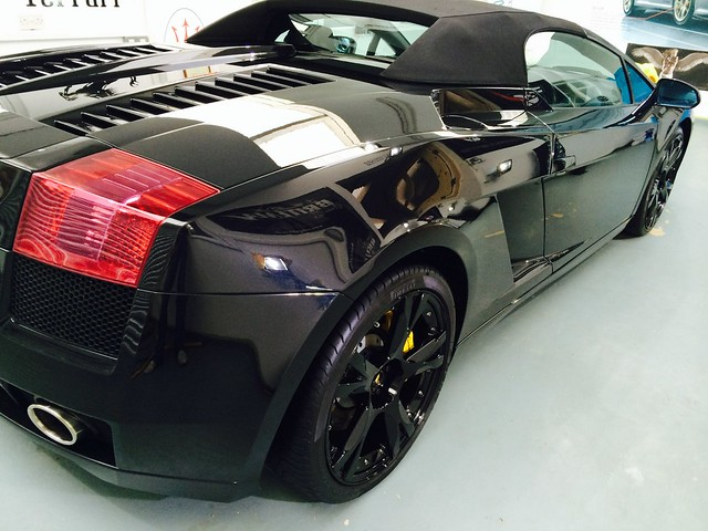 Gallardo Spyder Mild correction detail
