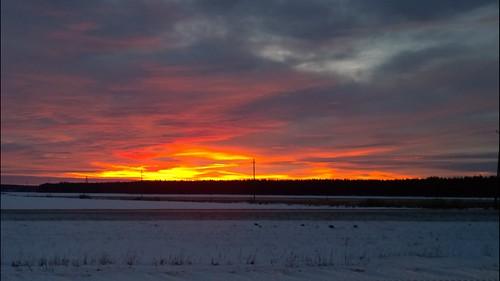 winter finland pori