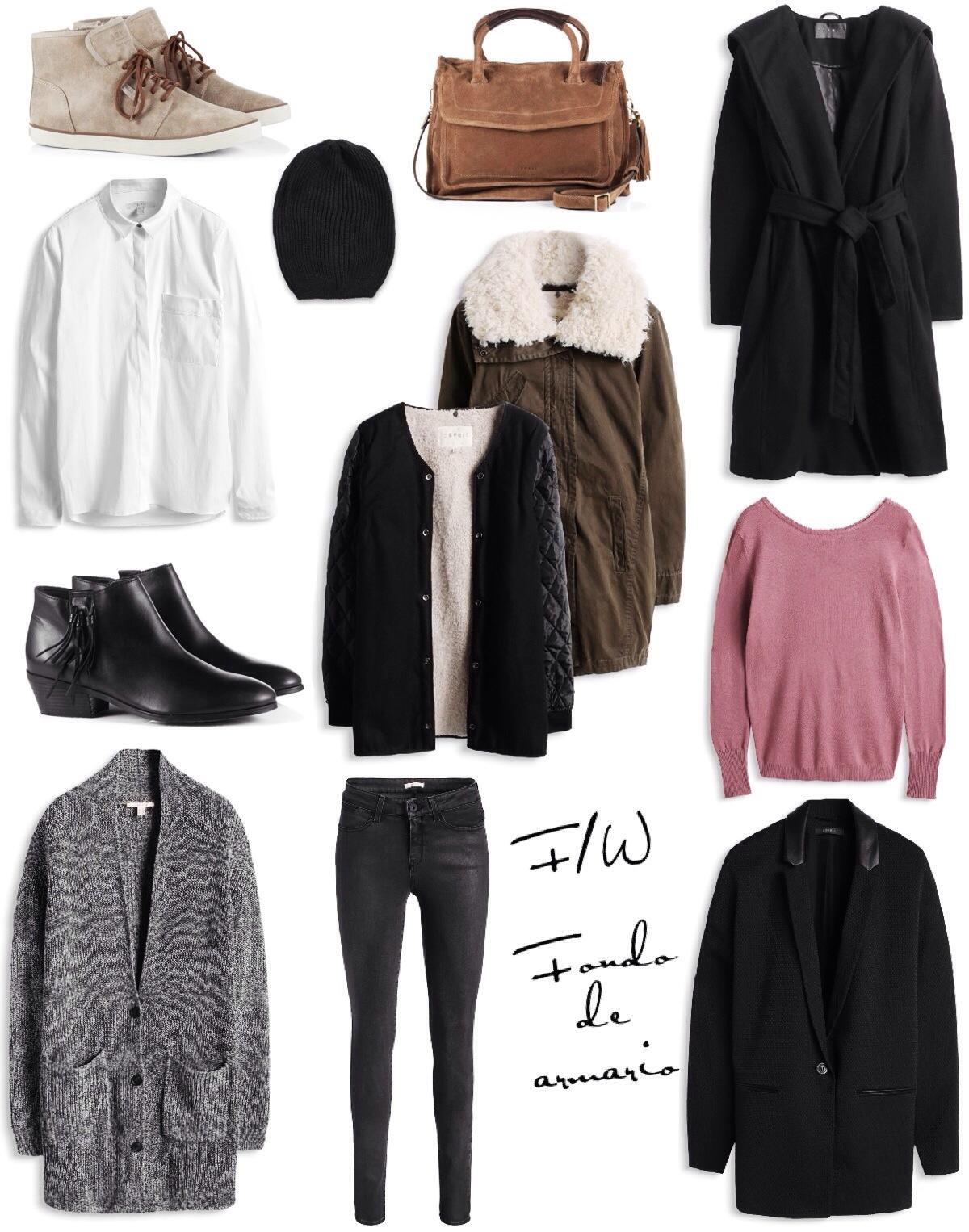 Fall winter fondo de armario