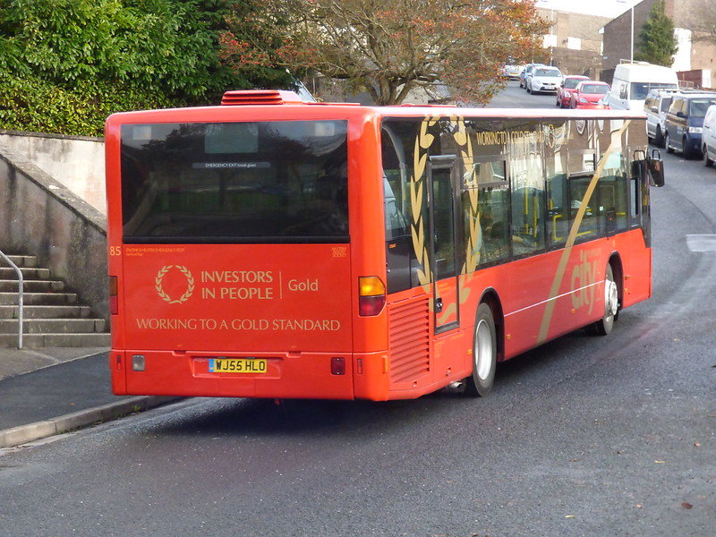 Plymouth Citybus 085 WJ55HLO