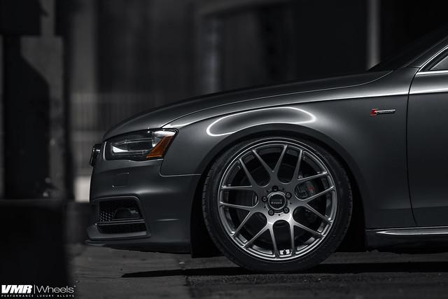 2014 Monsoon Gray Audi S4 Giac Stage 2 On V710 Gunmetal 19