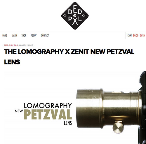 DEDPXL • Lomography Petzval review