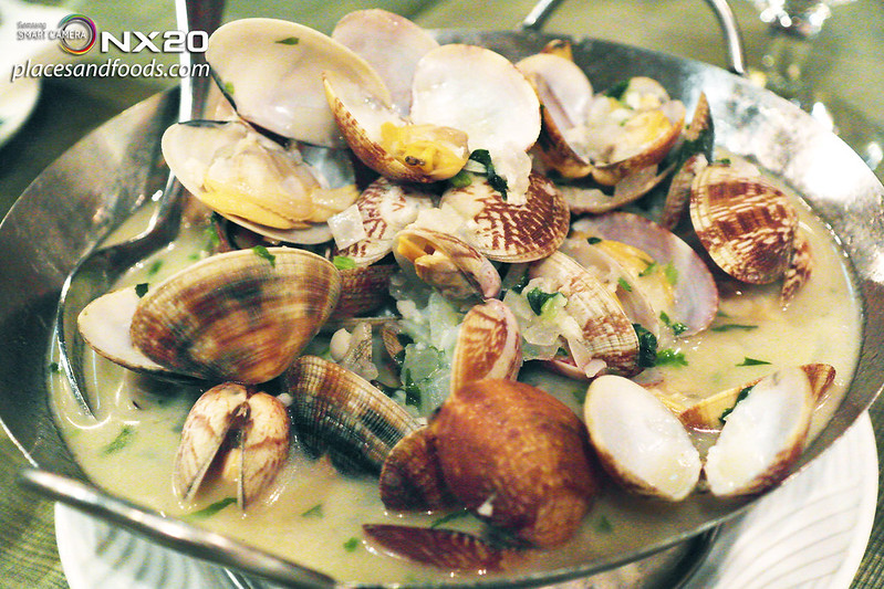 restaurante litoral plate of clams