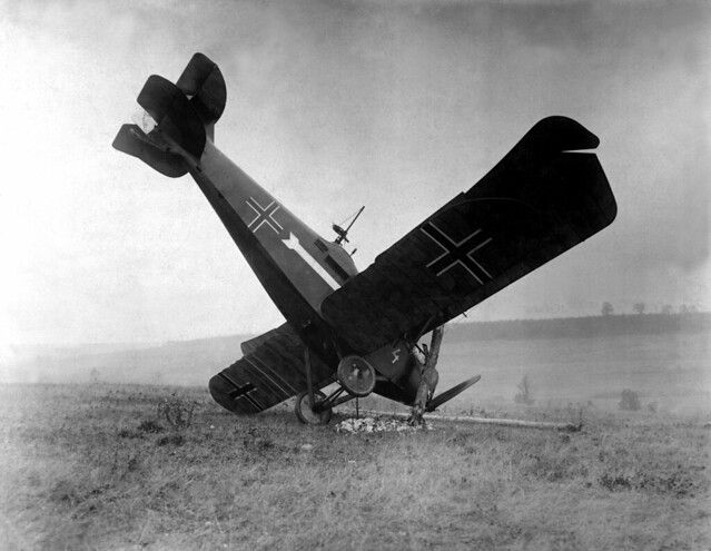 Crashed Aircraft WW1
