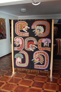 Impressive Folk Art in Barrio Santa Ana, Huamanga, Ayacucho, Peru