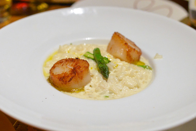 Risotto crab & scallops