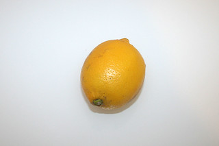 04 - Zutat Zitrone / Ingredient lemon