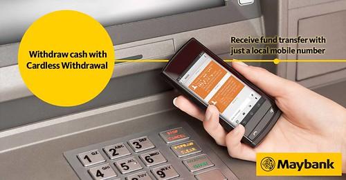 withdraw cashMaybank