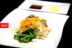 Vegetable Salad With Sesame Oil