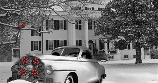 Christmas at Oatlands in Leeburg VA