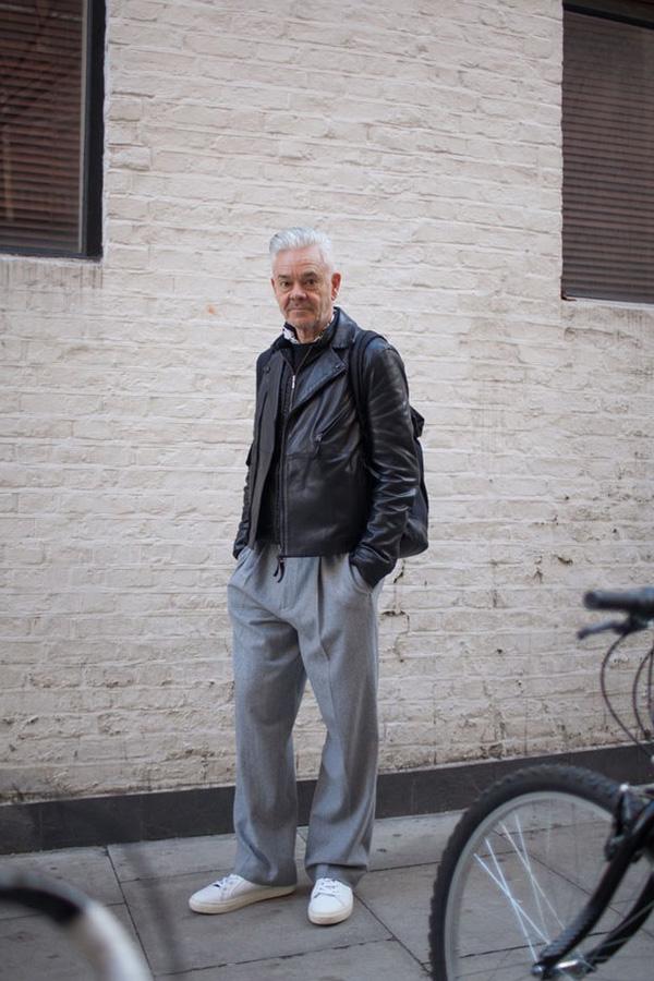 TOPMANクリエイティブディレクター ゴードン・リチャードソンのコーデ