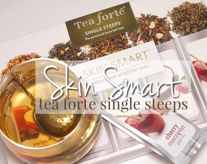 tea forte skin smart single steeps
