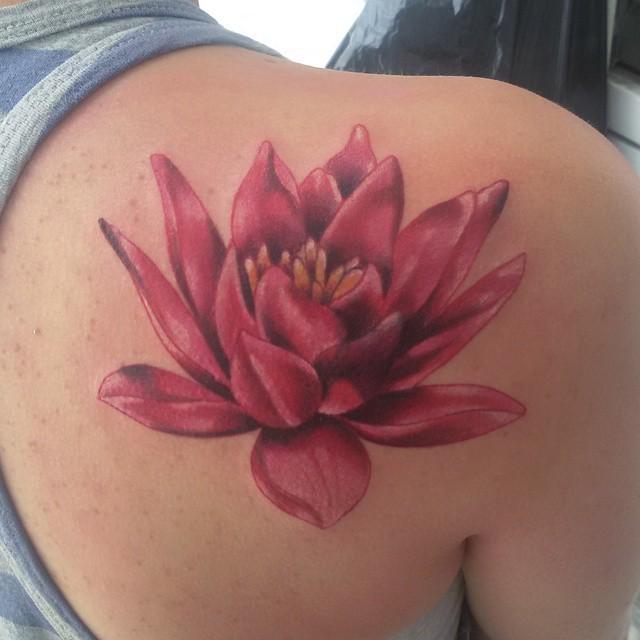 Tattoo Flor De Loto Tattoo Tatuaje Tinta Ink Skin