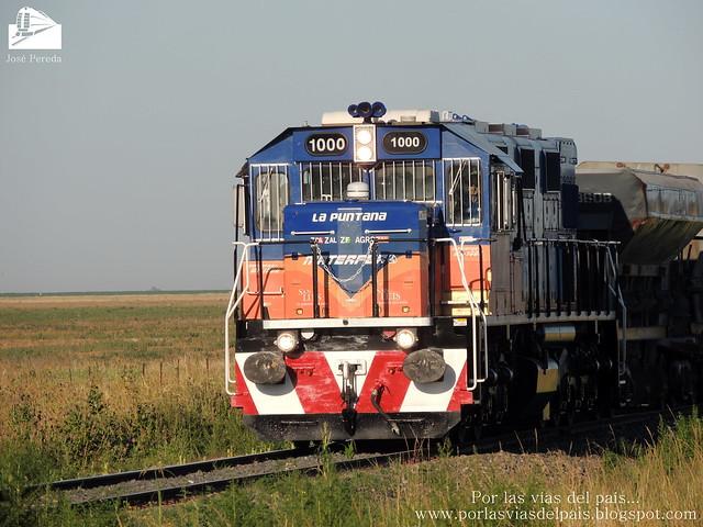 NREC MF1000 llegando a Estación Rufino