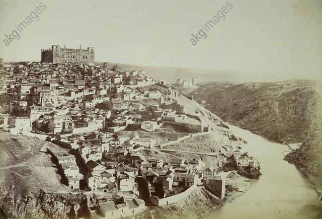 Vista de Toledo en 1858 por Louis Léon Masson (c) AKG signatura alb2269829