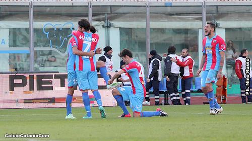 Catania-Trapani 4-1,il tabellino$