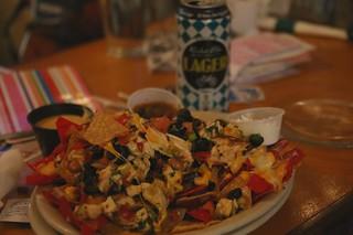Best nachos at Moab Brewery, Utah.