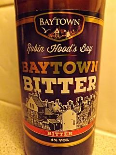 Baytown, Baytown Bitter, England