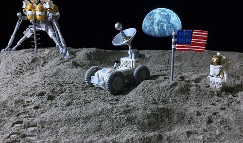 Lunar Lego Landing